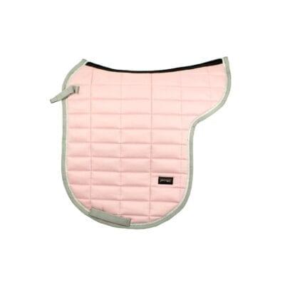Mink Horse underlag pink rose suede