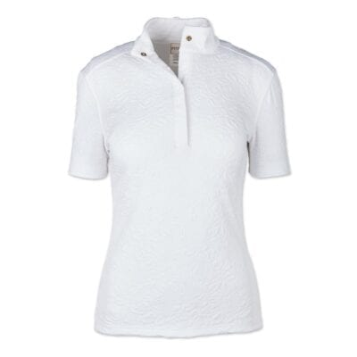 "Fits Riding ""White Rose"" show shirt"