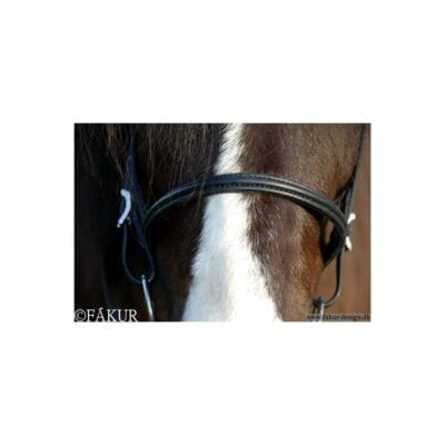 Alm. Engelsk næsebånd Nordic Horse